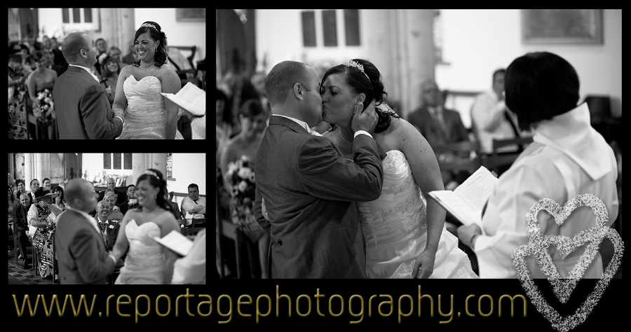 Wedding photography at St Laurence Blackmore