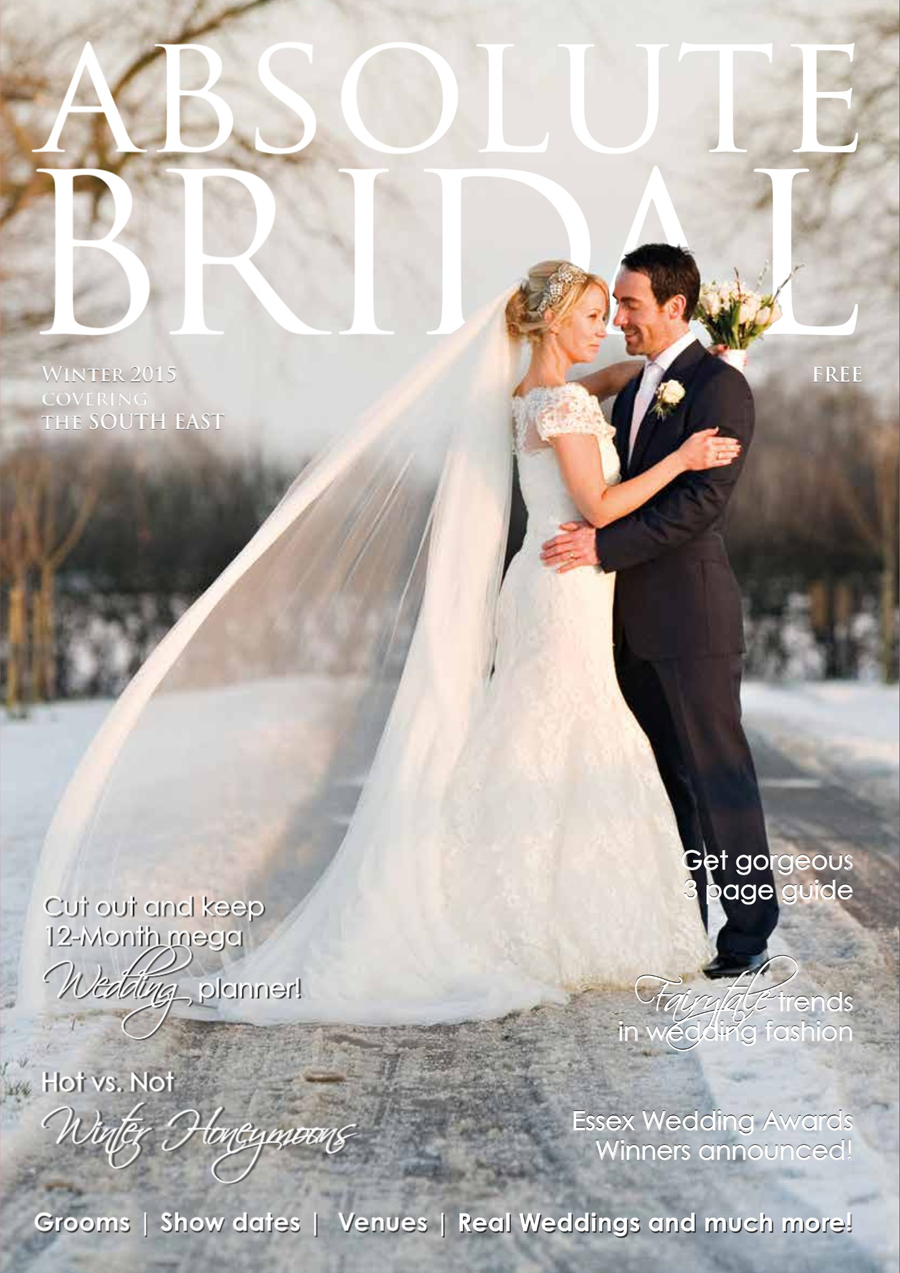 Reid Rooms wedding | magazine cover