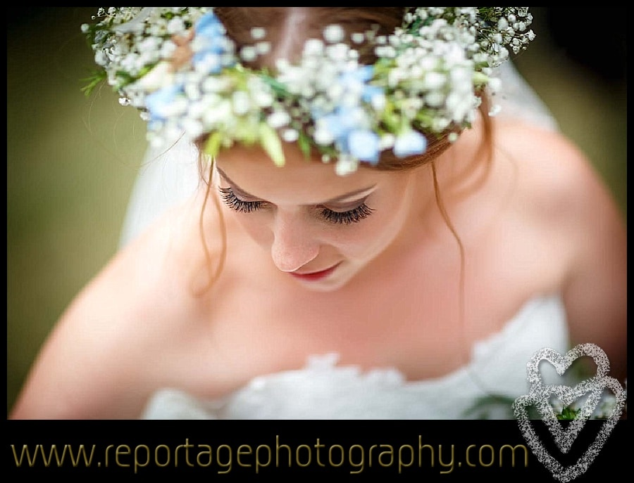 Bride at a Mulberry House wedding