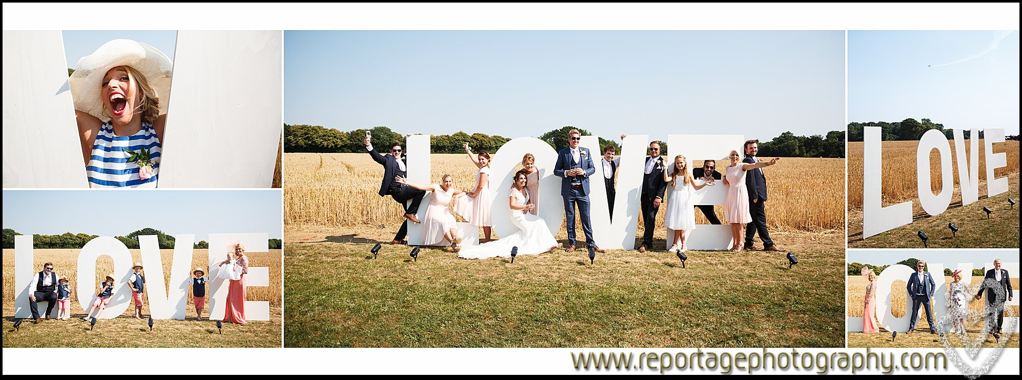Essex wedding Love letters