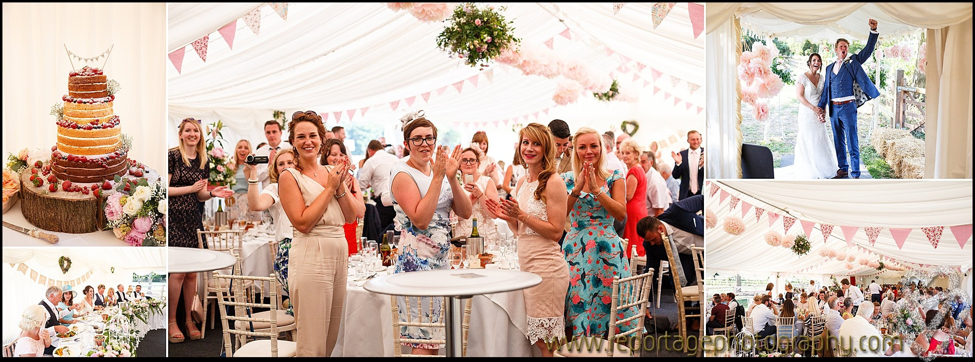 Marquee wedding in Essex