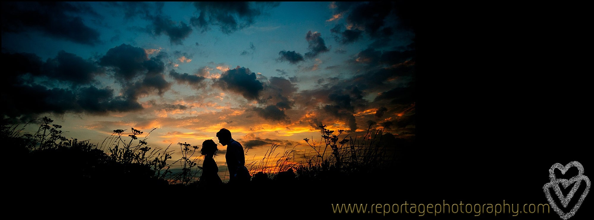 Essex wedding sunset photographer
