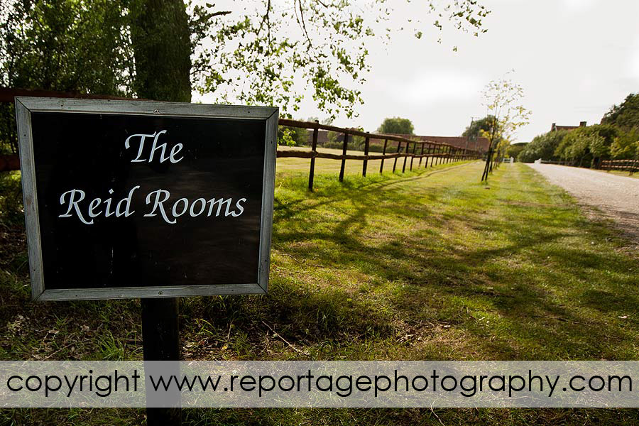 The Reid Rooms entrance