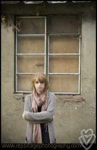 A portrait photograph of my daughter in Norfolk